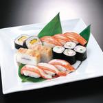 かに寿司大皿盛