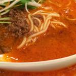 陳麻家 - 坦々麺のスープ