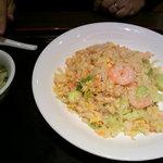 5462757 - ぷりぷり芝海老の葱塩炒飯