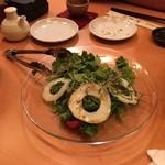 54620777 - 加賀太きゅうりとジャコのサラダ