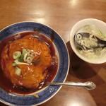 東遊記 陳 - 天津丼 580円 スープ付