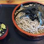 鹿林 - ざる(650円税込)+大盛り(150円税込)