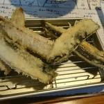 イソノサザエ - 鯵の天ぷら