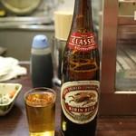 平野屋 - 瓶ビール大(420円)