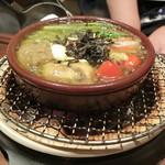 BAR 華 - 野菜のアヒージョ