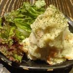 炭火焼き鳥 池袋 和み屋 - ポテトサラダ