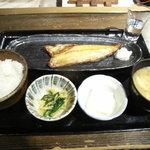 Iroriryouritonihonshusurofudohakobune - 日替わり焼き魚定食(本日はホッケ☆)880円
