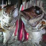 料理工房だん - 料理写真:天然真鯛のカブト焼き!