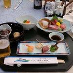 レストラン潮 - 料理写真:宿泊に付く通常定食(夕食)