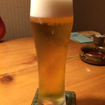 別邸 きときと - 昼のみの生ビール
