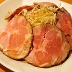 餃子のだんちゃん 三国亭 - 焼き豚
