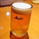 餃子のだんちゃん 三国亭 - 生ビール