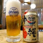 54632373 - オリオン缶ビール (400円)