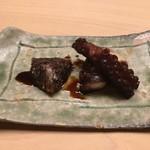 ginzasushiaoki - 蛸の東煮と卵