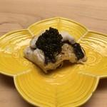 ginzasushiaoki - 穴子の白焼き、キャビア