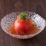 完熟トマトの土佐酢ジュレ