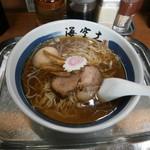 54637990 - らー麺+味玉