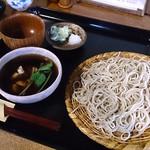 そば切り 温 - ホタテあられのつけ蕎麦 ¥870