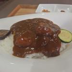 ひざしの杜 - 料理写真:ひざしの杜カレー800円