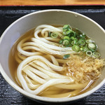 木の崎うどん - 料理写真:かけうどん(*´д`*)280円
