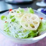 八景 - 海水晶のサラダ