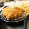 松のや - 料理写真:ロースカツヒレ1枚定食