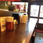 博多麺房 赤のれん - カウンター