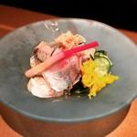 秋田料理 まさき - あじ酢の物
