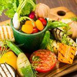 アンド アイランド - 大野農園中心の野菜の盛り合わせ