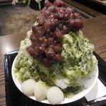 Sunainosato - 氷室守(抹茶小豆) 1,080円 ※夏季限定