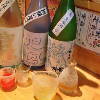 日本酒にこだわっています!!