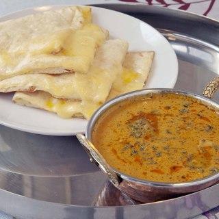 本格インド料理の数々