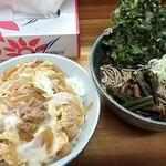 石かわ - 親子丼セット¥530