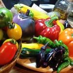 BISTRO にふぇー - 能勢の夏野菜