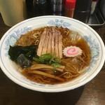 米沢らーめん さつき食堂 - 冷たいらーめん680円