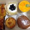 壷屋  - 料理写真:スイートポテト、アップルパイ、ブルーベリーヨーグルトムース、チーズタルト、マンゴーティラミス、バタどら