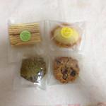 壷屋  - バームクーヘン、レモンケーキ、抹茶とフルーツの焼き菓子