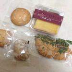 銀ぽあーる杉本 - ブランデーケーキ、瀬戸リーフパイ、アーモンド、カシューナッツ、マカダミアナッツクッキー
