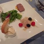 Assiette - 料理写真:ビストロフルコース(オードブル盛り合せ)