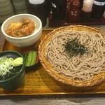 54658681 - かき揚げ丼定食(750円)