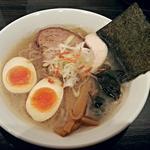 麺道 しゅはり - 【潮らぁめん + 半熟味付け煮玉子】¥780 + ¥70