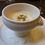 54659396 - スープ(ジャガイモ?)