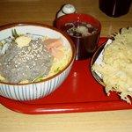 寿司懐石 かご家 - しらす丼としらすのかき揚げセット