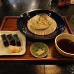 芦屋のおうどん みつまる庵 - うどん定食 750円