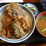 春木屋 - 天丼