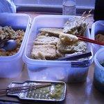 彦江製麺所 - 天ぷらは各自でトッピングし、食後に自己申告ですよ~【2010年10月】
