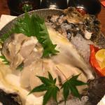 酒肴家 - 2016年8月10日お任せコース④鳥取県産岩牡蠣