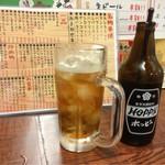 倉庫酒場もっちゃん - 黒ホッピー