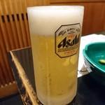 魚や 翻車魚丸 - おビール♪