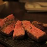 MOZU - 和牛イチボのステーキ